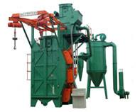 Wholesale Rust Removal Automatic Sandblasting Machine For The Bigger Size Workpiece from china suppliers