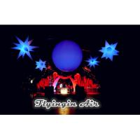 Wholesale 2m Decorative Purple Inflatable Light Balloon with Led Light for Wedding and Party from china suppliers
