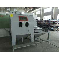 Buy cheap Turntable Dust Free Sandblasting Equipment Environmental Friendly With Sturdy from wholesalers