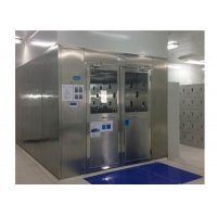Wholesale Customizable Speed Adjustable SUS201 Cleanroom Air Shower from china suppliers