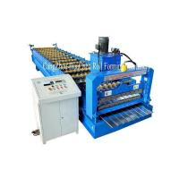 Best High Speed Roof Sheet / Wall Panel Roll Forming Machine With Chain Drive PLC Control wholesale