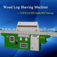 Wood shaving machine for horse bedding,HSS Blade,automatic working