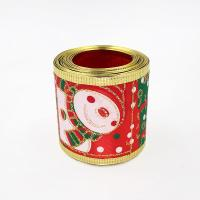 christmas wired ribbon for christmas bow for sale