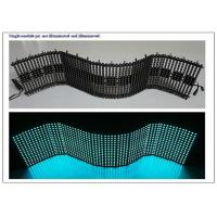 OEM Flexible LED Panel with 4096Dots / m² pixel Density Synchronization Control