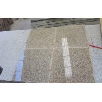 Wholesale Yellow G682 Granite Worktop Tiles , Sunset Gold Granite Tiles For Kitchen from china suppliers