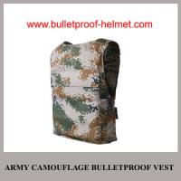 Wholesale Wholesale Cheap China NIJ Army Digital Camouflage Military  Police Bulleptoof Vest from china suppliers