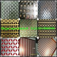 Wholesale Decorative aluminum perforated metal from china suppliers
