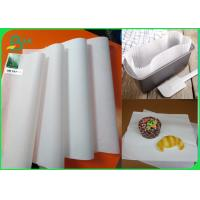 China White MG Kraft Paper 35 Gsm Excellent Printability Packaging Material for sale
