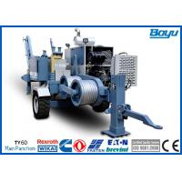 Wholesale HV Wire Hydraulic Cable Puller Winches 220kv Overhead Power Line Stringing Equipment from china suppliers