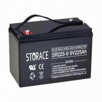 Wholesale Sealed Lead Acid Battery with 6V Voltage and 225Ah Capacity, Suitable for UPS and Railway Station from china suppliers
