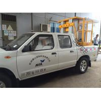 Wholesale Double Mast Vertical Truck Mounted Aerial Lift With 200kg Rated Load from china suppliers