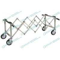 Buy cheap Stainless Steel Funeral Equipment , Church Coffin Trolley with Handles from wholesalers