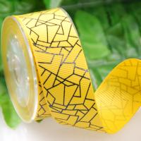 China 25 MM Luxury One Color Ink Screen Printing Ribbon For Gifts Packaging OR Decoration for sale