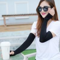 Wholesale Nylon Unisex Sports Cooling Sun Protection Sleeves Antibacterial OEM Service from china suppliers