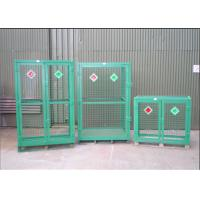Wholesale Welded Galvanized Gas Cylinder Cages With Powder Coated For Industry      from china suppliers