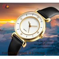 Wholesale WHOLESALE PU STRAP ALLOY CASE QUARTZ WATCHES LADIES WATCH WITH DIAMOND from china suppliers