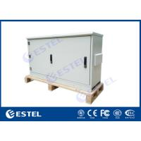 Wholesale Floor Mounted Outdoor Telecom Enclosure Aluminium Cabinet IP65 Powder Coating from china suppliers