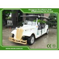 EXCAR 8 Passenger Electric Classic Cars 72V Battery Electric Vintage Car for sale