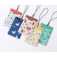China Promotional Gifts Lanyard ID Card Holder Bus Card Cover Lovely Carton Theme for sale
