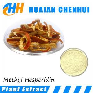 Quality Pharmaceutical Grade Methyl Hesperidin 98% Powder / Nature methyl hesperidin 98% for sale