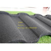 Wholesale Aluminum Zinc Stone Coated Metal Roofing Tile In Red Black Green Brown from china suppliers