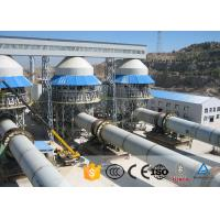 China 1.6*36m Equipments Used In Cement Plant 1.2-1.9TPH Rotary Kiln Plant Refractory Lining for sale