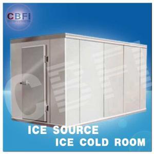 Best Concrete Design Moisture Proof Light Cold Room Blast Chiller Freezer With Cement Floor wholesale
