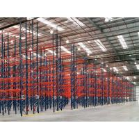 Wholesale Dark Blue / Orange Red Industrial Pallet Rack Shelving Warehouse Storage Racks from china suppliers