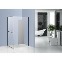 Best Chrome Side Pivot Open Corner Entry Shower Enclosures 1200 x 800 with Mirror Glass wholesale
