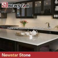 Wholesale Kitchen composite quartz countertop for black cabinets from china suppliers