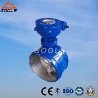 China Worm Gear Box Butt Welded End Metal Sealing Butterfly Valve (GA363H/F) on sale