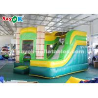 Wholesale 4*3.5*3.5m PVC Tarpauline Inflatable Bouncer Slide With Blower For Entertainment from china suppliers