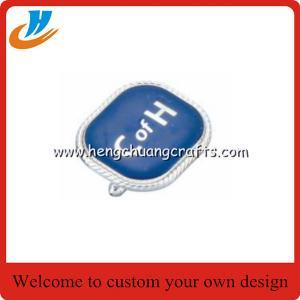 Cheap cufflinks/brass metal cuff links with logo,MOQ 50 sets each cufflinks custom