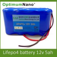 Wholesale Solar Lighting Lithium Deep Cycle Battery Safety Banlance Charge and Discharge 1.5kg Weight from china suppliers