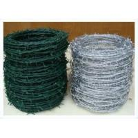 Farm / Yard Fencing Barbed wire Electro-Galvanized Wire 380-550N/mm2