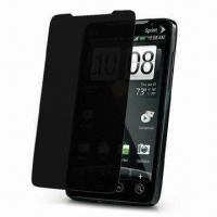Wholesale Privacy Screen Protector, Ideal for HTC EVO 4G, Washable and Reusable from china suppliers