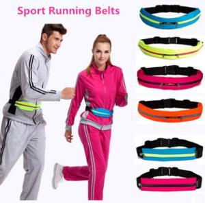 China Elastic running sports waist bag on sale