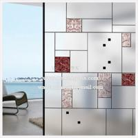 Wholesale china etching/sandblasted/acid etched Shower Door Glass from china suppliers