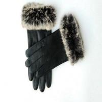 Wholesale fashion leather gloves for lady from china suppliers