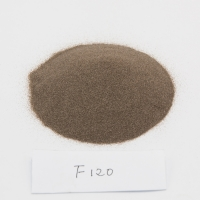 Wholesale Corundum F120 Brown Fused Aluminum Oxide For Sandblasting from china suppliers