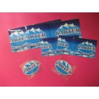 China Mineral Water Drink Bottle Shrink Sleeve Printing Blue Heat for sale