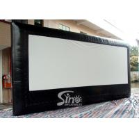 Wholesale 5 Meters High Advertising Inflatable Moving Screen Without Back Frame For Outdoor Promotion from china suppliers