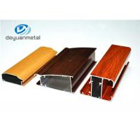 Wholesale Different Color Household Wood Grain Aluminum Profiles Long Using Life from china suppliers