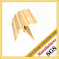 Wholesale brass handrail extrusion profile section from china suppliers
