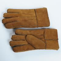 Wholesale men sheepskin Double face gloves from china suppliers