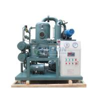 Wholesale 50HZ Transformer Oil Dehydration Plant , ZYD-50 Transformer Oil Purification System from china suppliers