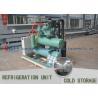 Shrimp Cooling Freezer Cold Room -20 Degree Temperature Germany BITZER Compressor Unit for sale