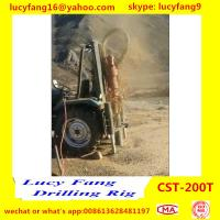China Factory Price Good Quality Tractor Mounted Mobile Hydraulic Water Well Drilling Rig For 100-200m Depth for sale