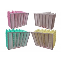 Wholesale 80% Humidity Synthetic Fiber Media F6 Pocket Air Filter from china suppliers