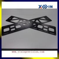 China Custome sheet metal fabrication metal stamping parts anodizing black aluminum sheet metal stamping parts on sale